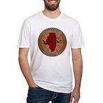 Illinois Birder Fitted T-Shirt