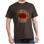 Iowa Birder Dark T-Shirt