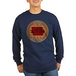Iowa Birder Long Sleeve Dark T-Shirt