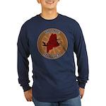 Maine Birder Long Sleeve Dark T-Shirt