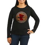 Minnesota Birder Women's Long Sleeve Dark T-Shirt