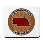 Nebraska Birder Mousepad