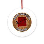 New Mexico Birder Ornament (Round)