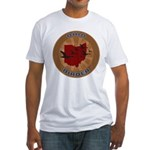 Ohio Birder Fitted T-Shirt