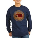 Oklahoma Birder Long Sleeve Dark T-Shirt