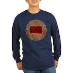 South Dakota Birder Long Sleeve Dark T-Shirt