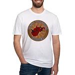 West Virginia Birder Fitted T-Shirt