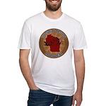 Wisconsin Birder Fitted T-Shirt