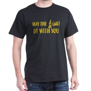 May The Force Be With You Dark T-Shirt | Gifts For A Geek | Geek T-Shirts