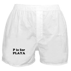 P is for PLAYA Boxer Shorts