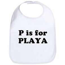 P is for PLAYA Bib