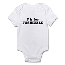 F is FOSHIZZLE Infant Creeper
