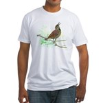 Fuertes' Meadowlark Fitted T-Shirt
