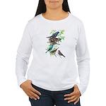 Grosbeaks & Buntings Women's Long Sleeve T-Shirt
