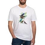 Grosbeaks & Buntings Fitted T-Shirt