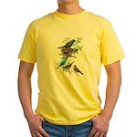 Grosbeaks & Buntings Yellow T-Shirt