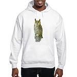 Fuertes' Great Horned Owl Hooded Sweatshirt