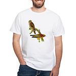 Red-shouldered Hawk White T-Shirt