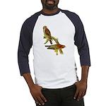 Red-shouldered Hawk Baseball Jersey