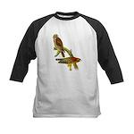 Red-shouldered Hawk Kids Baseball Jersey