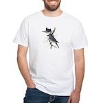 Fuertes' Kingfisher White T-Shirt