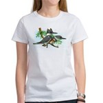 Belted Kingfisher Women's T-Shirt