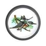 Belted Kingfisher Wall Clock