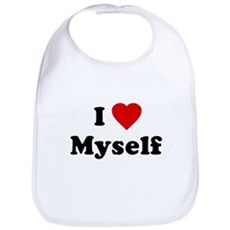 I Love [Heart] Myself Bib