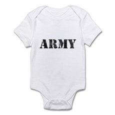 Vintage ARMY Infant Bodysuit