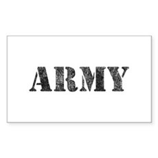 Vintage ARMY Rectangle Sticker