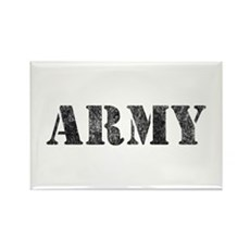 Vintage ARMY Rectangle Magnet