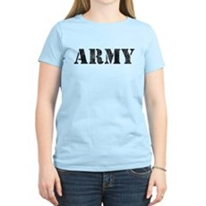 Vintage ARMY Womens Light T-Shirt