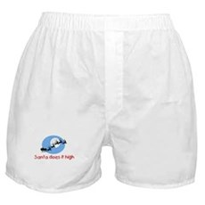 Santa does it high Boxer Shorts