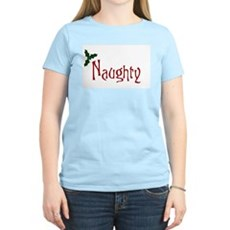 Naughty Womens Pink T-Shirt