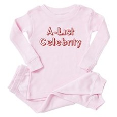 A-List Celebrity Toddler Pink Pajamas