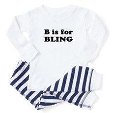 B is for BLING Baby Pajamas
