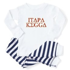 ITAPA KEGGA (Greek) Baby Pajamas