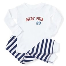 Deeds' Pizza Baby Pajamas