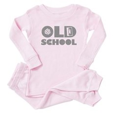 Old School (Distressed) Baby Pajamas