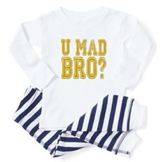 U Mad Bro Baby Pajamas