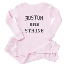 Boston Strong Baby Pajamas