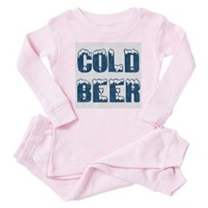 Cold Beer Baby Pajamas
