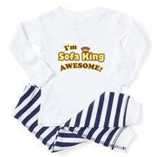 I'm Sofa King Awesome! Baby Pajamas