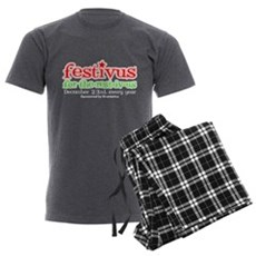 FESTIVUS™ for the rest-iv-us Mens Charcoal Pajama