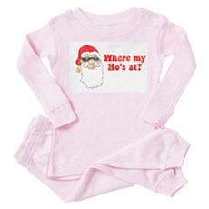 Where my Ho's at? Toddler Pink Pajamas