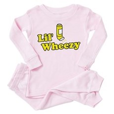 Lil' Wheezy Toddler Pink Pajamas