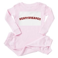 Heartbreaker Toddler Pink Pajamas
