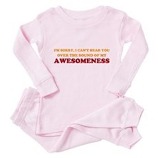 Sound of Awesomeness Toddler Pink Pajamas