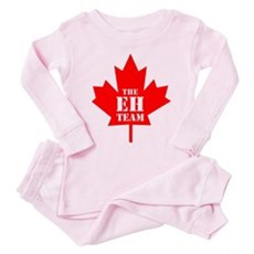 The Eh Team Toddler Pink Pajamas