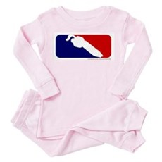 DJ Logo Toddler Pink Pajamas